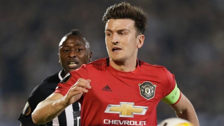 Liga Europy: Maguire zapomniał, że... jest kapitanem (WIDEO)