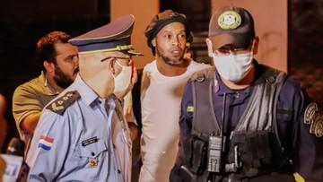 Ronaldinho wyszedł z aresztu. Wielka kaucja przekonała sędziego
