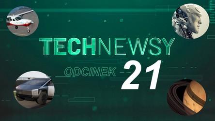 Zobacz TechNewsy odcinek 21 - filmowy przegląd najciekawszych wiadomości
