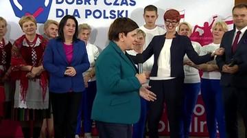 """""""Przyjechało do was pisowskie koło gospodyń"""". Szydło opowiedziała anegdotę z Brukseli"""