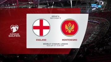 Anglia - Czarnogóra 7:0. Skrót meczu
