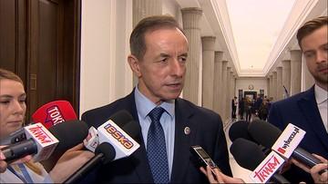 """""""Poważnie rozważamy wezwanie Banasia na komisję"""" - marszałek Senatu"""