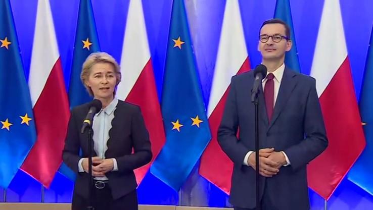 Mateusz Morawiecki spotka się w czwartek z przewodniczącą Komisji Europejskiej