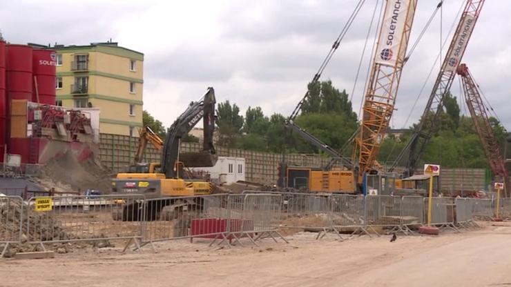 PKP budują tunel w Łodzi. Najgłośniej robi się... w nocy