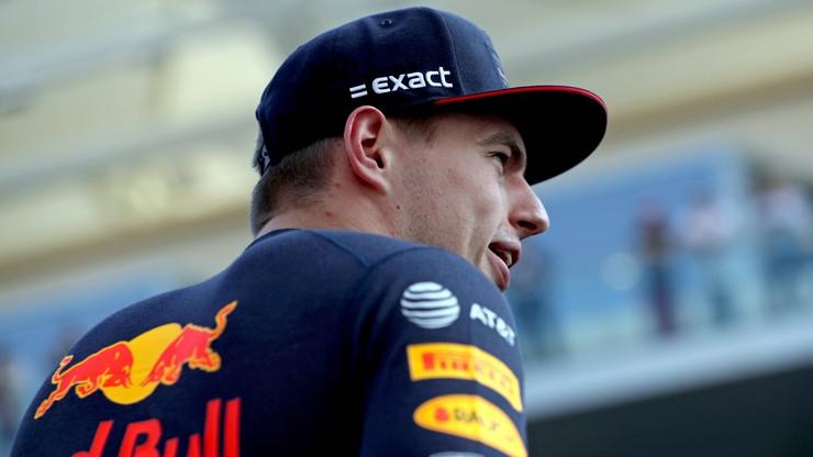 Verstappen w Red Bullu za każdą cenę
