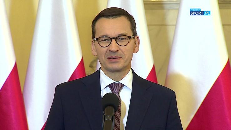 2019-10-09 Premier Morawiecki: Marzy mi się siatkarski finał ME 2021 w Katowicach