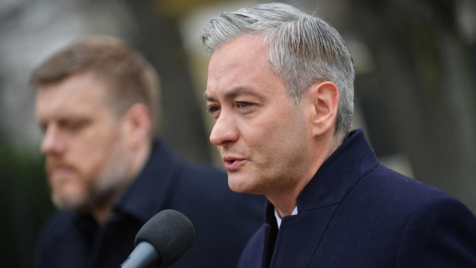 Robert Biedrń, kandydat Lewicy na prezydenta