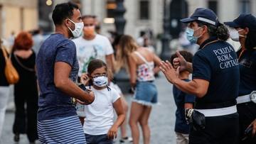Wysokie kary za brak maseczki we Włoszech