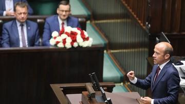 """""""Pan się cieszy, że w Polsce miałoby nie być przestrzegane prawo"""". Budka do premiera"""