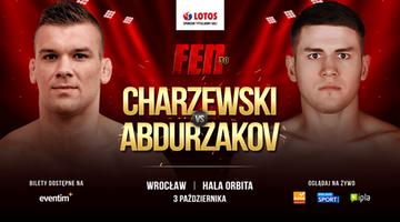 FEN 30: Mansur Abdurzakov zmierzy się z Łukaszem Charzewskim