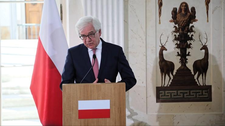 Premier przyjął dymisję Czaputowicza. Kiedy poznamy następcę?