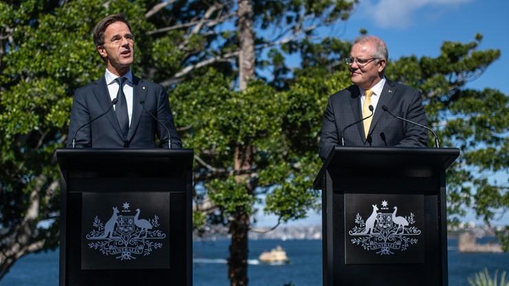 Władze Holandii i Australii będą dążyć do postawienia przed sądem winnych katastrofy MH17
