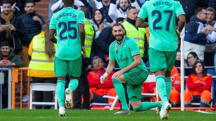 La Liga: Real Madryt wykonał zadanie i wskoczył na fotel lidera