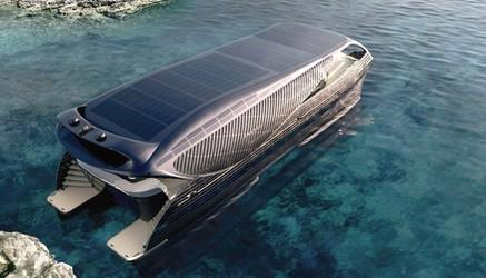 Oto SolarImpact, jacht zasilany Słońcem, który może pływać w nieskończoność