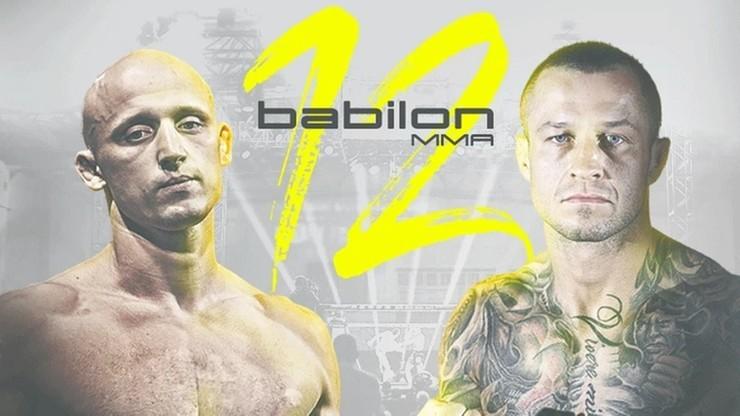Babilon MMA 12: Pawlak vs Błeszyński. Transmisja w Polsacie Sport Extra
