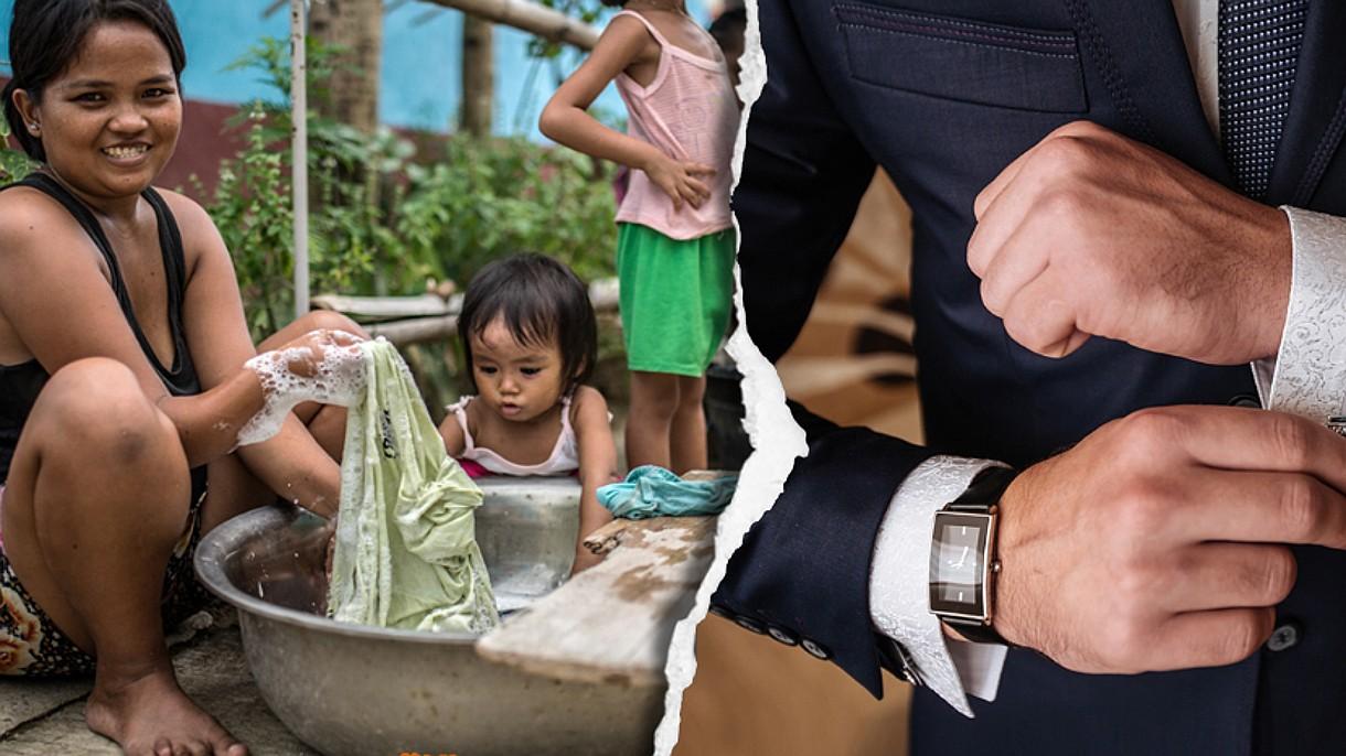 Zaledwie 24 miliarderów posiada majątek większy od połowy biednej części ludzkości
