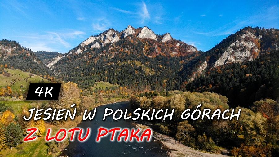 """23-10-2019 09:47 Niesamowity film, który z lotu ptaka ukazuje uroki jesieni w polskich górach. """"Niezapomniane przeżycie"""""""