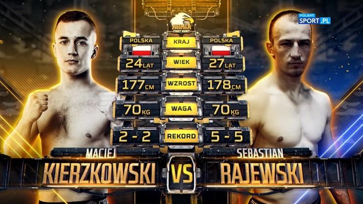 2019-10-05 Maciej Kierzkowski - Sebastian Rajewski. Skrót walki