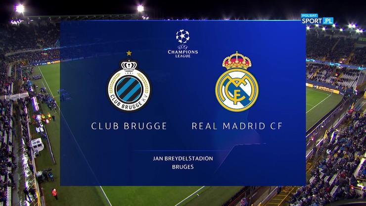 Club Brugge - Real Madryt 1:3. Skrót meczu