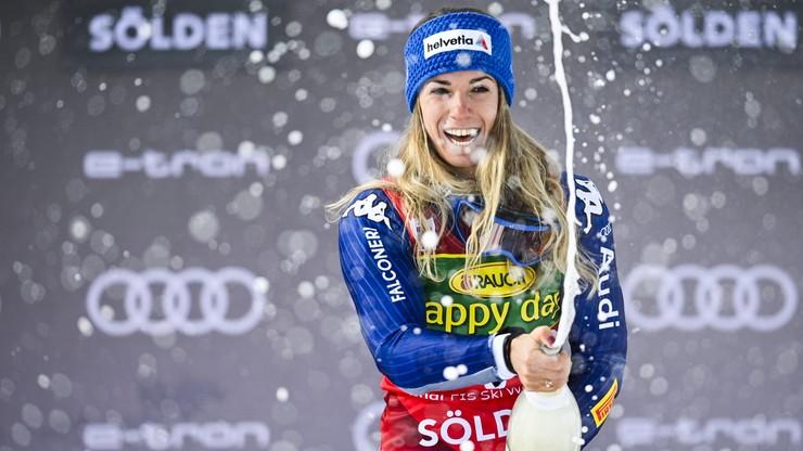Alpejski PŚ: Marta Bassino wygrała w Soelden