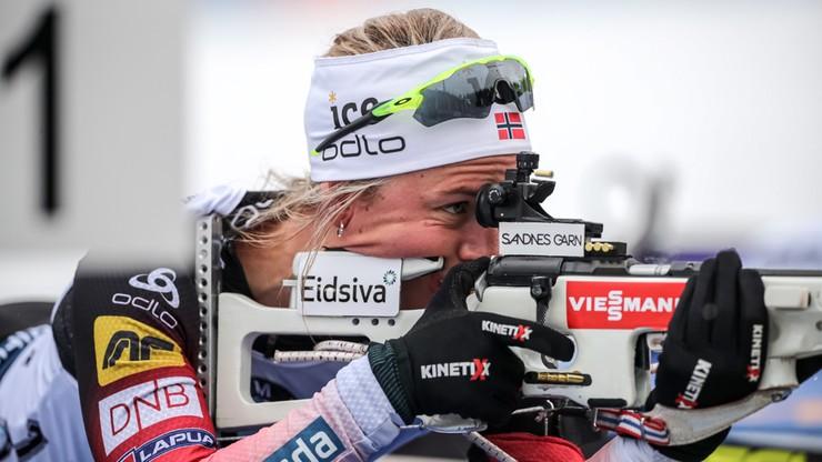PŚ w biathlonie: Norweżki pierwsze w sztafecie w Novym Mescie, Polki ósme
