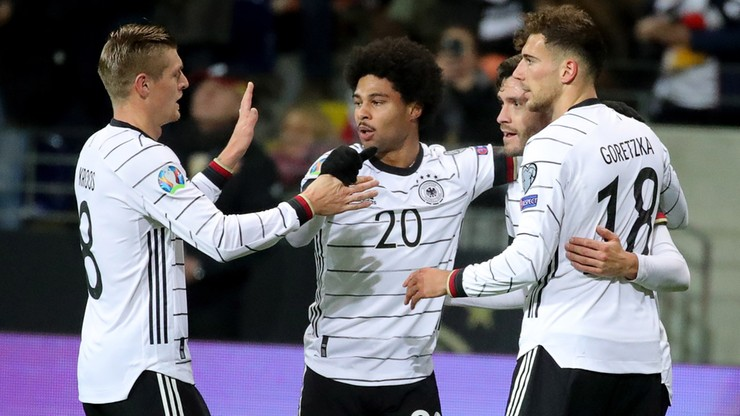 El. Euro 2020: Podrażnieni Niemcy rozgromili Irlandię Północną! Hat-trick Gnabry'ego