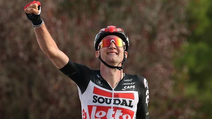 Vuelta a Espana: Tim Wellens wygrał piąty etap