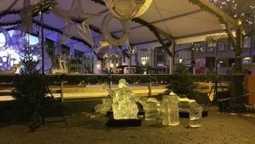 Dziecko przygniecione bryłą lodu. Tragedia na jarmarku w Luksemburgu