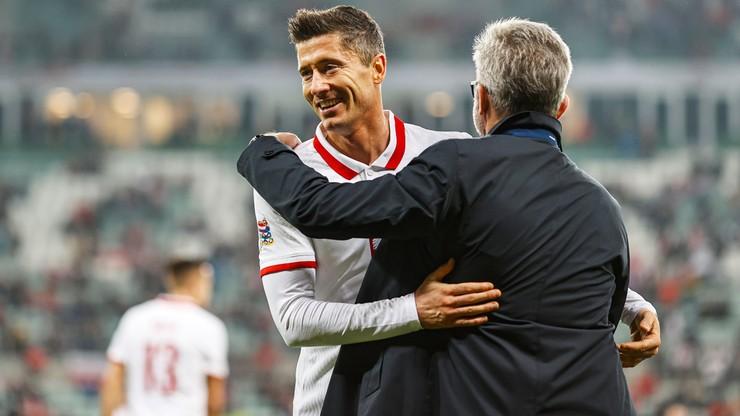 Jerzy Brzęczek: Robert Lewandowski potwierdził, że jest najlepszym zawodnikiem w Europie