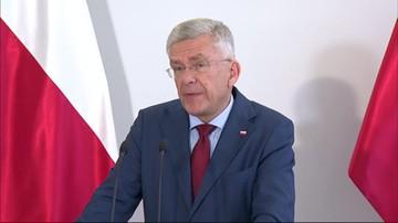 Karczewski: bylibyśmy w bardziej komfortowej sytuacji, gdyby do wyboru Banasia nie doszło