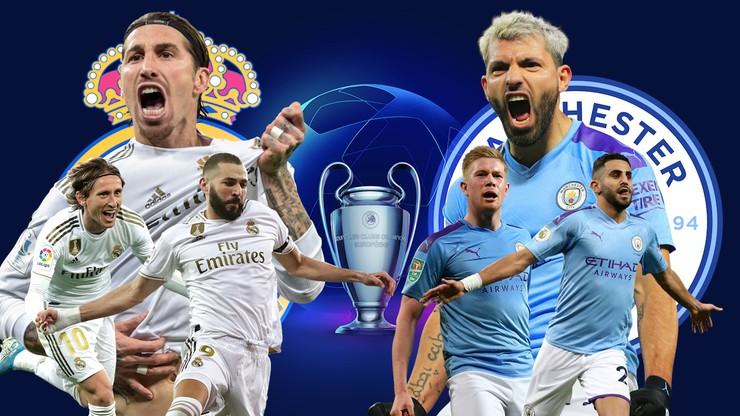 Liga Mistrzów: Real Madryt - Manchester City. Relacja i wynik na żywo