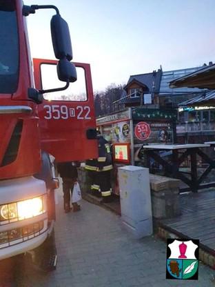 Amatorów zdjęć uwolnili strażacy.