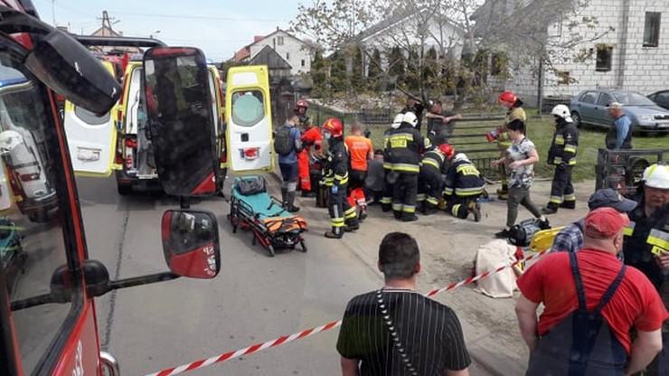 Dwaj chłopcy potrąceni przez pijanego kierowcę w Ziomakach, gm. Mokobody na Mazowszu