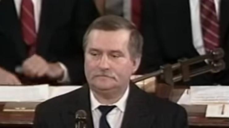 30 lat temu Lech Wałęsa wygłosił przemówienie w Kongresie USA