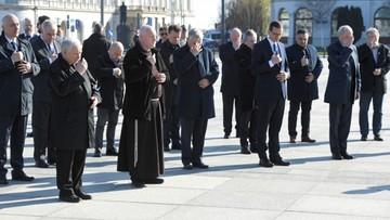 Politycy PiS na obchodach rocznicy katastrofy smoleńskiej. Opozycja pyta, policja tłumaczy