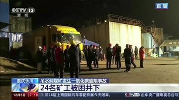 Chiny: wywozili sprzęt z zamkniętej kopalni. Zginęło 18 górników
