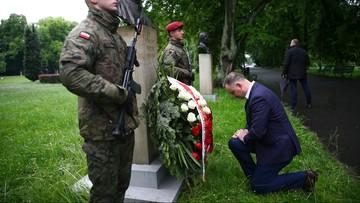 """Duda upamiętnił Witosa. """"Wezwał wszystkich, aby stanęli w obronie Rzeczypospolitej"""""""