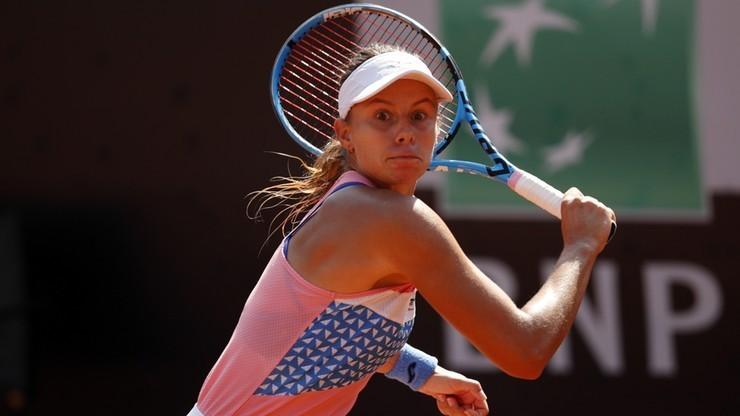 Turniej WTA w Strasburgu: Magda Linette przegrała z Jeliną Switoliną w 1/8 finału