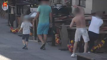 Brutalny atak w centrum Warszawy. Turystka ma złamany oczodół [WIDEO]