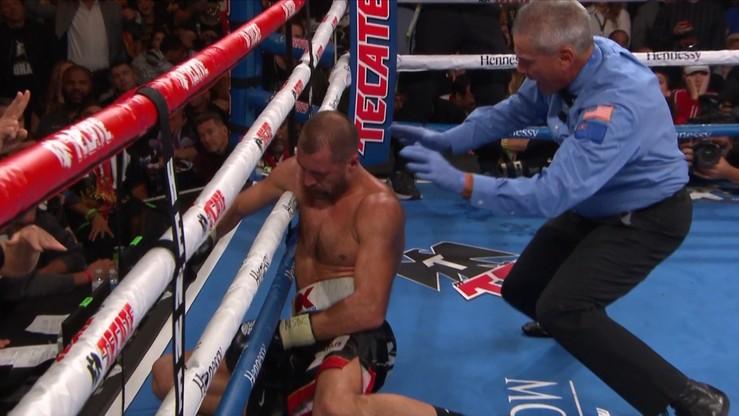 Brutalny nokaut Canelo na Kowaliowie! Meksykanin mistrzem kategorii półciężkiej