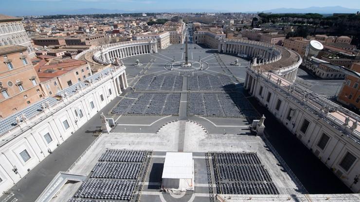Papieskie uroczystości Wielkiego Tygodnia bez udziału wiernych. Historyczna decyzja Watykanu