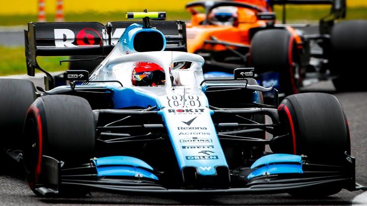 Formuła 1: Kubica rozbił bolid na początku kwalifikacji w Japonii