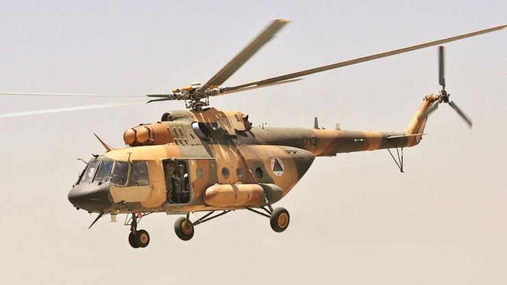 Wojskowy śmigłowiec rozbił się w Afganistanie. Siedem osób zginęło