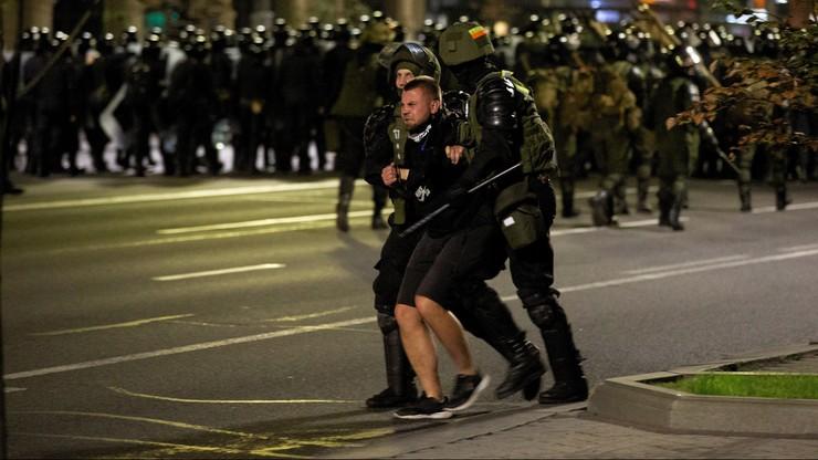 2 tys. osób zatrzymanych po protestach na Białorusi
