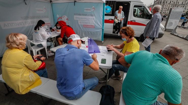 Rosyjska szczepionka na koronawirusa. Wyprodukowano pierwszą partię dostępną dla ludności