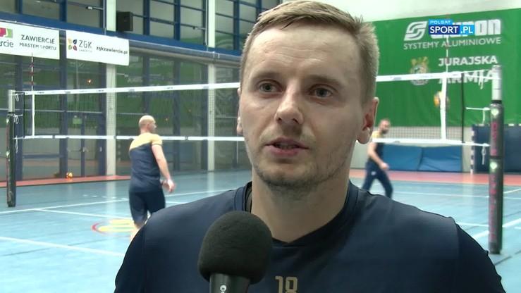 """Wojtaszek: W hali w Zawierciu będzie """"ogień"""""""