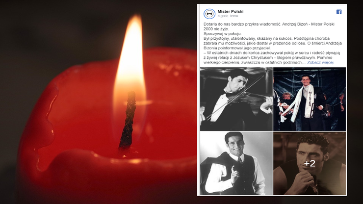 Nie żyje Andrzej Bizoń. Były Mister Polski miał 44 lata - Polsat News