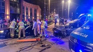 Wypadek w Łodzi. Nietrzeźwy kierowca zabił 59-latka