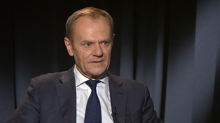 """Tusk: chciałbym powiedzieć Kaczyńskiemu """"nie strasz, nie strasz..."""""""