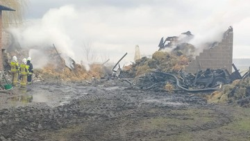 Ciało noworodka w płonącym budynku. Jest zarzut zabójstwa